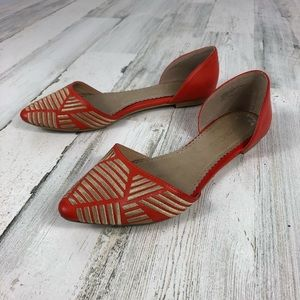 Restricted ModCloth pointy toe flat